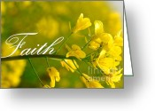 Rehabilitate Greeting Cards - Faith Greeting Card by Lj Lambert