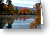 Nh Greeting Cards - Fall Colors Greeting Card by Dan McManus