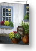 Carversville Greeting Cards - Fall in Carversville Greeting Card by Margie Perry