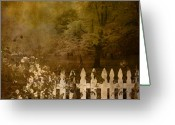 Digital Image Greeting Cards - Fall Greeting Card by Jeff Burgess