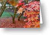 October Greeting Cards - Fall Greeting Card by Les Cunliffe