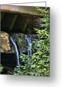 Chuck Kuhn Photography Greeting Cards - Falling Water III Greeting Card by Chuck Kuhn