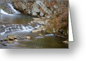 Wv Greeting Cards - Falls Greeting Card by Randy Bodkins