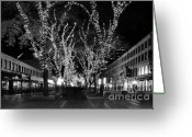 Faneuil Greeting Cards - Faneuil Market Place Greeting Card by Frank Garciarubio