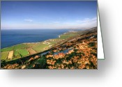 Kinvarra Greeting Cards - Fanore view Greeting Card by John Quinn