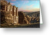 Ancient Civilization Greeting Cards - Fantasy Greeting Card by David Lazar