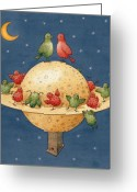 Cosmos Greeting Cards - Far Planet Greeting Card by Kestutis Kasparavicius
