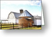 Shed Greeting Cards - Farm Life Greeting Card by Todd Hostetter