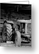 Tenn Greeting Cards - Farm Tractor Greeting Card by Wilma  Birdwell
