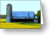 Trish Greeting Cards - Farmstead Greeting Card by Trish Clark