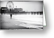 Jogging Photo Greeting Cards - Feeling Strong Greeting Card by John Rizzuto