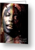 Nina Greeting Cards - Felling Good  Greeting Card by Paul Lovering