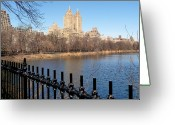 Fence Greeting Cards - Fence With Twin Towers, San Remo Greeting Card by Federica Gentile