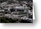 Boston Stadium Greeting Cards - Fenway Park Greeting Card by Tim Perry