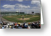 Ballparks Greeting Cards - Fenway South Greeting Card by Paul Plaine