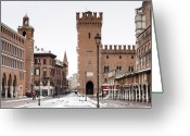 Bicycle Greeting Cards - Ferrara Greeting Card by Andre Goncalves
