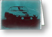 Ferrari Digital Art Greeting Cards - Ferrari 250 GTB Greeting Card by Irina  March