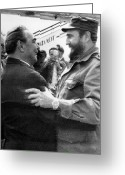 Fidel Castro Greeting Cards - Fidel Castro (1926- ) Greeting Card by Granger