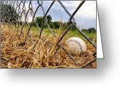 Ballparks Greeting Cards - Field of Dreams Greeting Card by Jason Politte