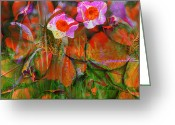 Jerry Cordeiro Greeting Cards Posters Greeting Cards - Fields Of Seeds Greeting Card by Jerry Cordeiro