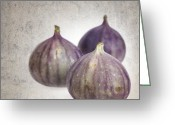 Figs Greeting Cards - Figs vintage Greeting Card by Jane Rix