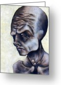 Figure Greeting Cards - Figure Two  Greeting Card by Mark M  Mellon