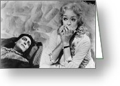 Old Photo Greeting Cards - Film: Baby Jane, 1962 Greeting Card by Granger