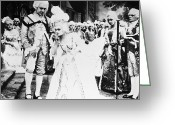 Barry Greeting Cards - Film: Madame Du Barry, 1919 Greeting Card by Granger