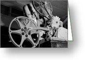 45-49 Years Greeting Cards - Film Projector Greeting Card by Orlando