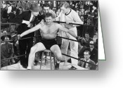 Smoker Greeting Cards - Film Still: Boxing Greeting Card by Granger