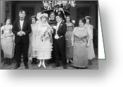 Bridesmaid Greeting Cards - Film Still: By Golly, 1920 Greeting Card by Granger