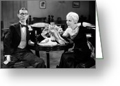 Smoker Greeting Cards - Film Still: Drinking Greeting Card by Granger