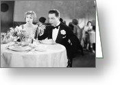 Tuxedo Greeting Cards - Film Still: Ford & Powers Greeting Card by Granger