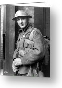 Film Still Photo Greeting Cards - Film Still: World War I Greeting Card by Granger