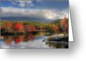Baxter Park Greeting Cards - Final Destination Greeting Card by Lori Deiter