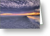 Digital Images Greeting Cards - Final Shot of the Night Greeting Card by Phill  Doherty