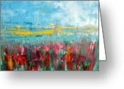 Photographs Painting Greeting Cards - Fire weed Greeting Card by Julie Lueders