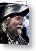 Pirates Greeting Cards - First Mate Greeting Card by David Patterson