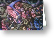 Fish Art Pastels Greeting Cards - Fish Greeting Card by Caroline Peacock