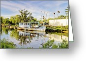 Louisiana Greeting Cards - Fishermans Pride Greeting Card by Scott Pellegrin