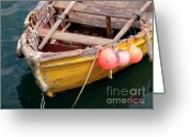 Ropes Greeting Cards - Fishing Boat Greeting Card by Carlos Caetano