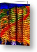 Skip Hunt Digital Art Greeting Cards - Fishnet Greeting Card by Skip Hunt