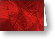 Textured Sculpture Greeting Cards - Fission Ii Greeting Card by Rick Roth