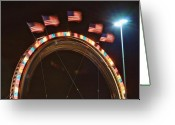"\\\""storm Chasers\\\\\\\"" Greeting Cards - Five Flags Greeting Card by James Bo Insogna"