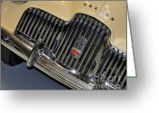 Plaque Greeting Cards - FJ Holden - Front end - grill Greeting Card by Kaye Menner