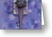 Cone Flower Greeting Cards - Flicker Ice Cream Greeting Card by Sveta Shved