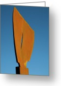 Flying Sculpture Greeting Cards - Flight-Second Image Greeting Card by Robert Hartl