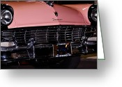 Ford Street Rod Greeting Cards - Flirtacious Fairlane Greeting Card by DigiArt Diaries by Vicky Browning