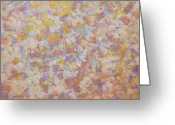 Loose Panicles Greeting Cards - Flora Romantica Greeting Card by Don  Wright