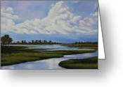 Rick Mckinney Greeting Cards - Florida Greeting Card by Rick McKinney